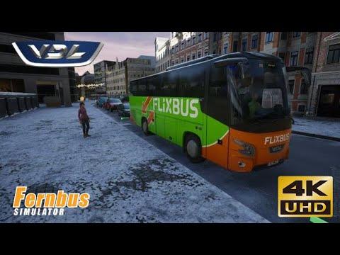 fernbus-simulator---erfurt-to-oberhof-in-a-vdl-futura-fhd2-106-flixbus-coach---rennsteig---4k-winter