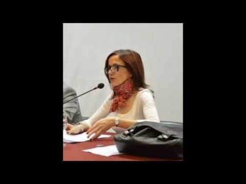 Analía Gerbaudo en Universidad Nacional de Salta. 2016.