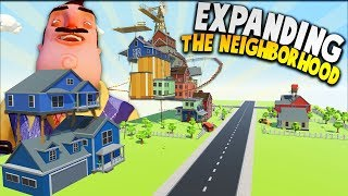 EXPANDING OUR TINY HELLO NEIGHBOR VIRTUAL REALITY WORLD! | Tiny Town VR Gameplay HTC Vive
