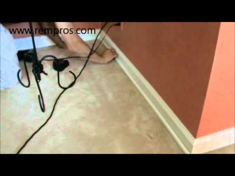 How To Install Shoe Base Molding Installation