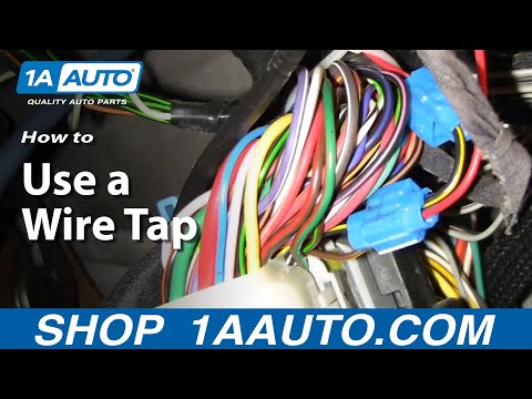 Automotive How To Use a Wire Tap to connect Accessories to a Wiring Harness 1AAuto.com