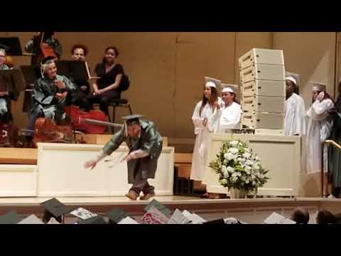 Kamryn Fleenor 2018 Senn High School graduation