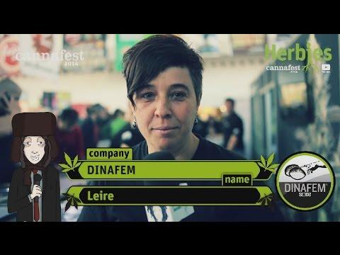 Dinafem Seeds @ Cannafest 2014 Prague
