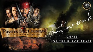 Pirates Of The Caribbean | Curse Of The Black Pearl | Digital Painting
