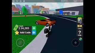 NEWEST CODE FOR VEHICLE TYCOON (ROBLOX)/ (READ DESC)