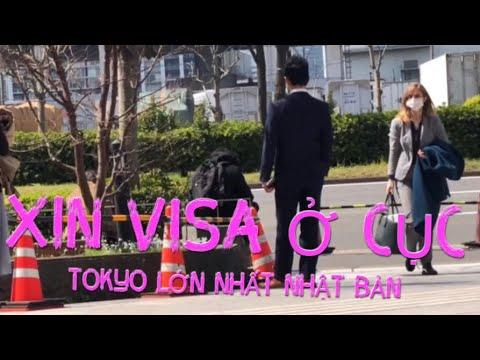 Hướng dẫn lấy visa ở cục tokyo Nhật Bản