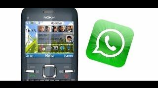 Video Descargar WhatsApp Java Para Nokia - 2017 [GRATIS] download MP3, 3GP, MP4, WEBM, AVI, FLV Oktober 2017