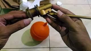 Unboxing Kran Air Otomatis Untuk Tandon/Kamar Mandi Agar Air Tidak Meluap Kuningan