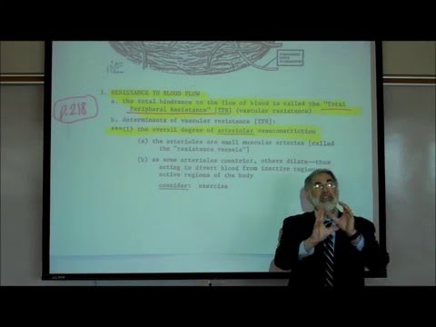 CARDIOVASCULAR PHYSIOLOGY; PART 1 by Professor Fink.wmv