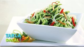 Spinach Noodles By Tarla Dalal