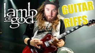7 Lamb of God Riffs That Will Restore Your Faith in Drop D Metal Guitar!