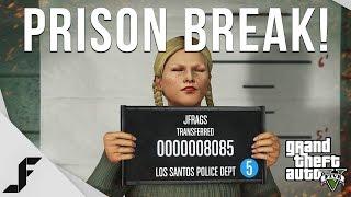 Prison Break Heist! Grand Theft Auto 5 PC Gameplay