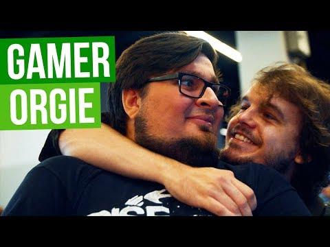 Gigantische Gamer-Orgie in Köln - Andreas Klebrig