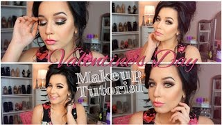 Valentine's Day Makeup Tutorial | Sweet & Romantic