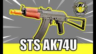 STS AK74U (Unboxing, Review and FPS Testing) - Blasters Mania