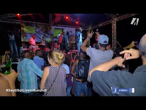 SAUTI SOL live in BURUNDI (part 1)