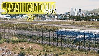 Cities Skylines Springwood Plane Spotting - EP29 -