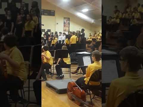 Alston Middle School choir Spring Concert part 2