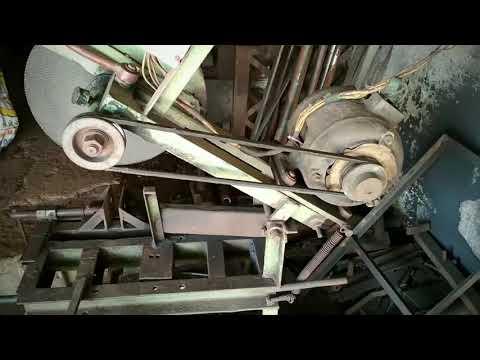 "Cut-off machine homemade 14"" wheel"