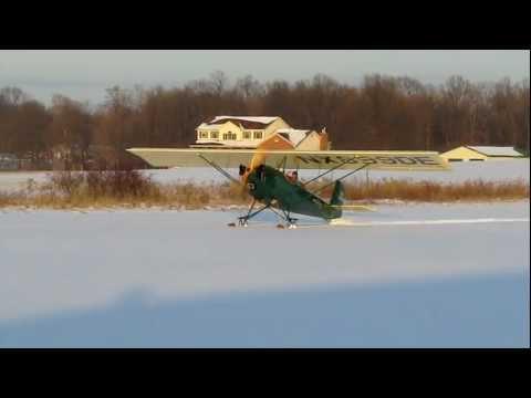 Pietenpol Ski Flying