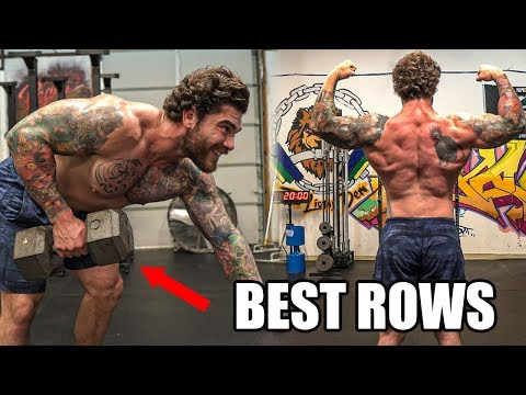 10 ROW VARIATIONS FOR A BIG STRONG BACK
