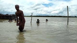 Mayapur ganga Snan by Iskcon devotee