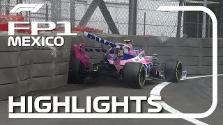 2019 Mexican Grand Prix: FP1 Highlights