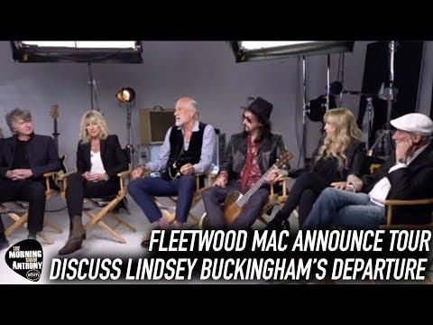 Fleetwood Mac Discuss Lindsey Buckingham Announce New Tour Mp3