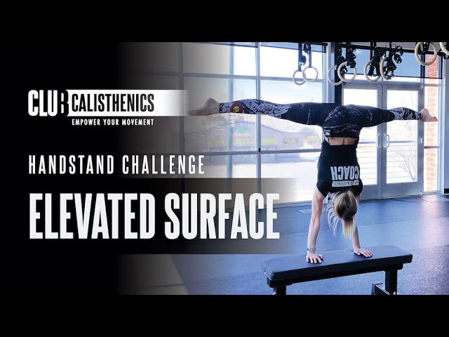 DAY 28 - Elevated Surface Handstand