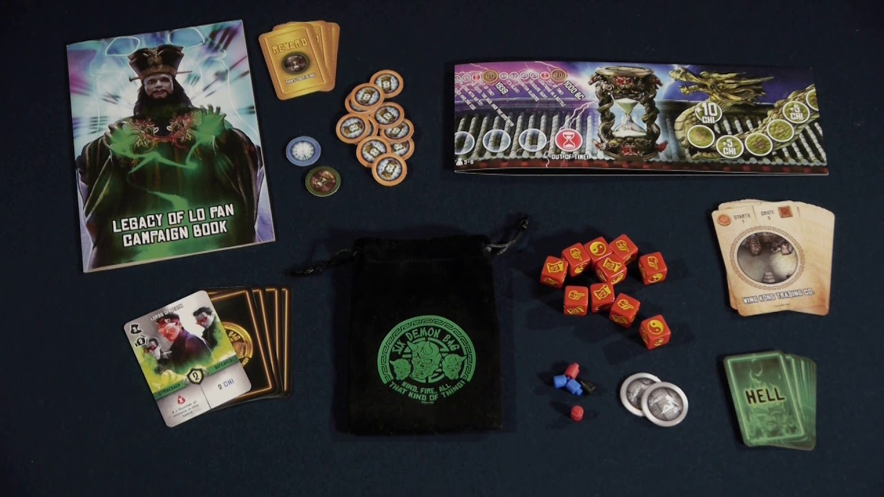 """09 - Big Trouble in Little China: the Game - """"How to Play"""" Legacy of Lo Pan Campaign (Expansion)"""