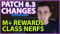 Patch 8.3 CHANGES: Mythic+ Rewards, Class Balance, and Essences!