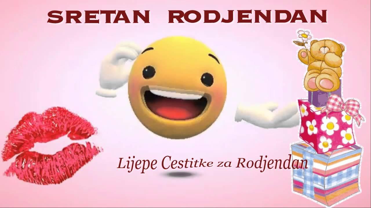 sretan rođendan animacije SRETAN ROĐENDAN ☺💋   YouTube sretan rođendan animacije