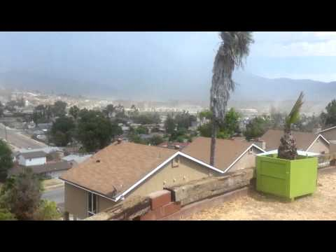 Spring valley mini haboob 9-16-14 east county sd