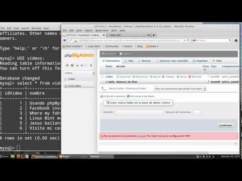 Instalar Y Configurar PhpMyAdmin Para MySQL En Linux Mint