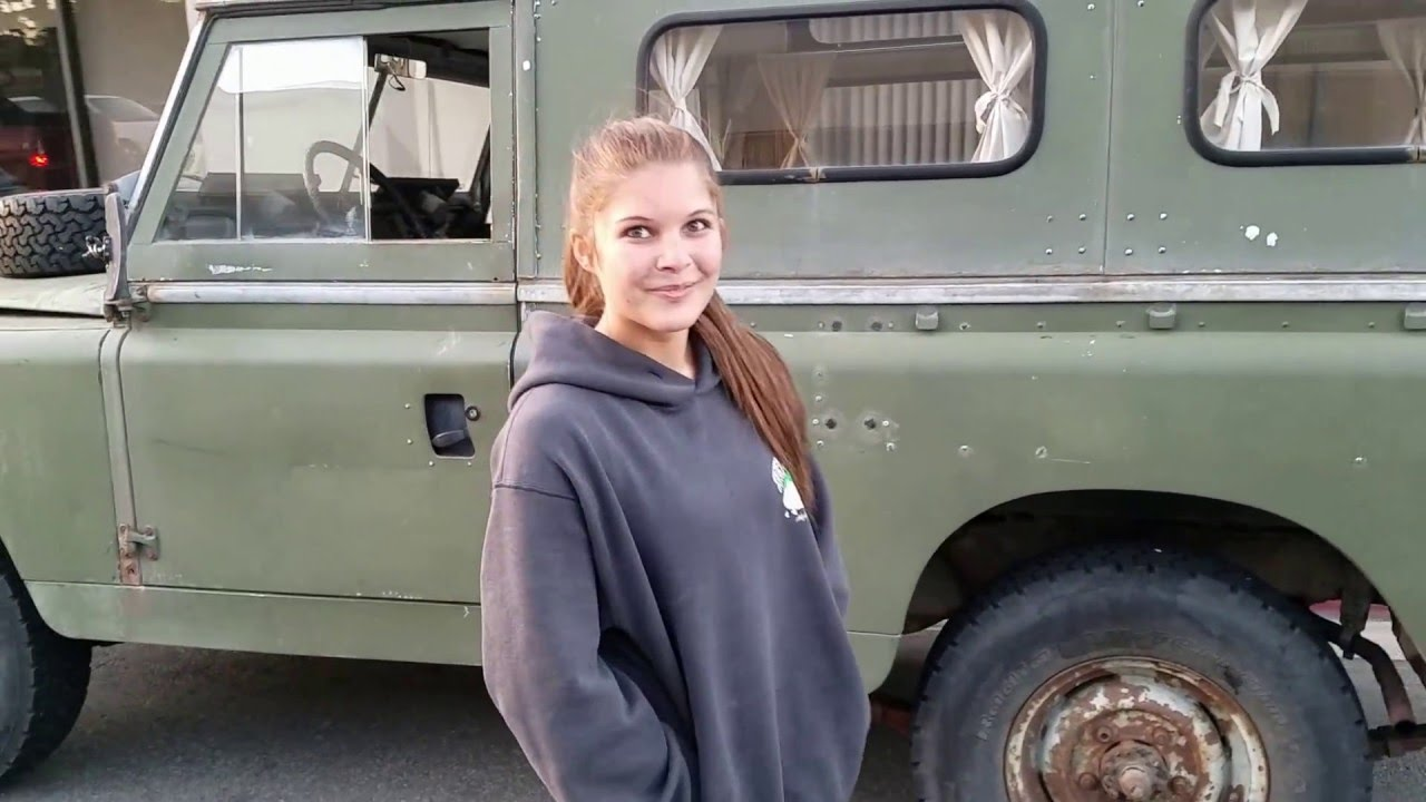 66 Land Rover Saved From Colorado Salvage Yard By HB Teen