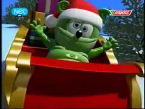 Gummy bear christmas edition (greek) - YouTube