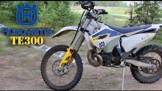 обзор мотоцикла Husqvarna TE 300 -жопорватель!