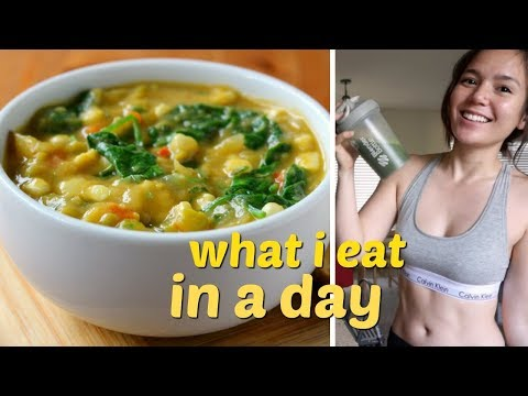what-i-eat-in-a-day-//-healthy-vegan-recipes