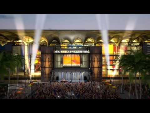 Dr. Phillips Center Architectural Fly-Through