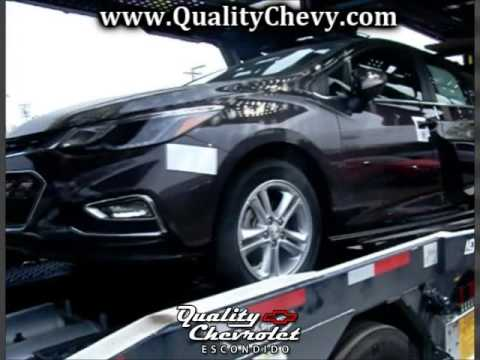 2016 Cruze LT Quality Chevrolet Escondido - YouTube