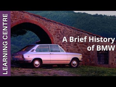 Brief History Of BMW | OSV Learning Centre