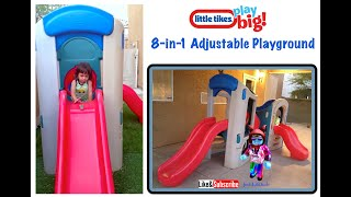 Little Tikes 8 In 1 Adjusted Playground Gym