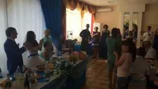 Весёлая свадьба в Волгограде