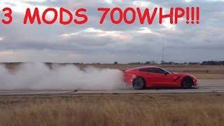 3 MOD 700WHP C7 Corvette Stingray