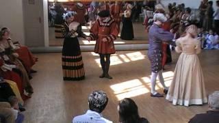 """Contest in Historical dance in Czech republic / Taneční soutěž  """"O jílovské zlato"""", 2010"""