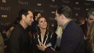 keri russell and matthew rhys on working together and practicing russian in bed