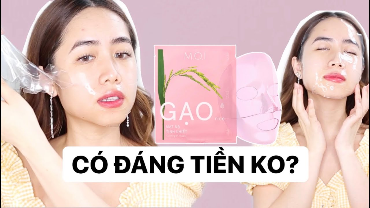 Review mặt nạ gạo M.O.I MỚI của Hồ Ngọc Hà | CÓ NÊN MUA KHÔNG? | SKINCARE REVIEW ♡ Mina Nguyen