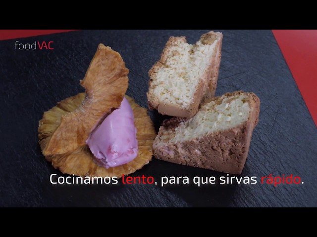 Regeneración de Brownie de Chocolate foodVAC