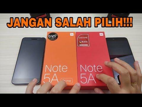 Perbedaan Redmi Note 5A PRIME Vs Redmi Note 5A