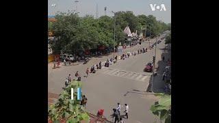 印度放宽限制措施 逐步恢复铁路运行